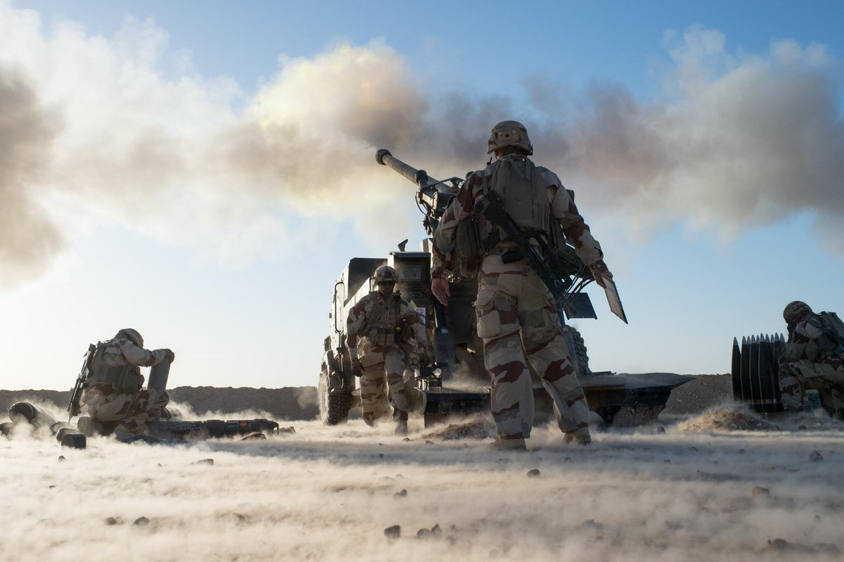 US-led Coalition Strikes ISIS Positions On Eastern Bank Of Euphrates River