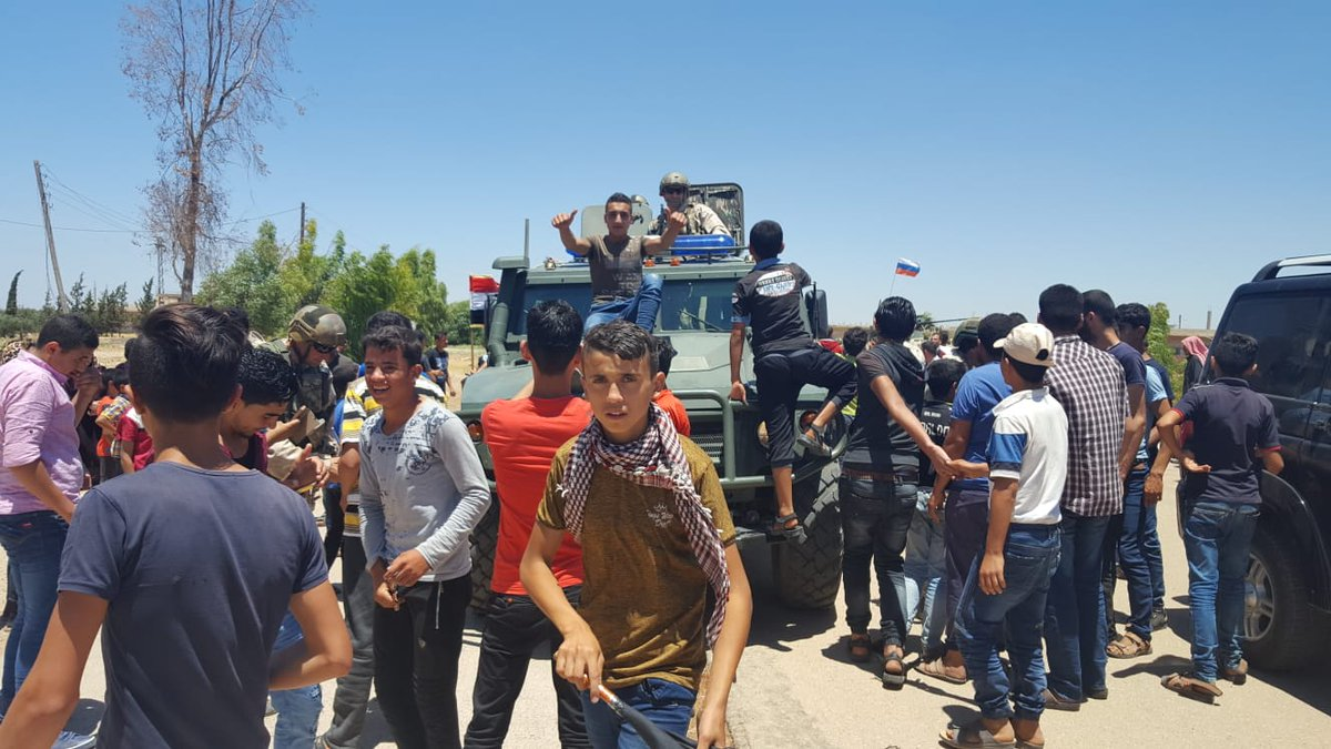 Two Key Towns Join Reconciliation In Western Daraa As Protests Erupts All Over Rebel-Held Areas (Photos, Video)