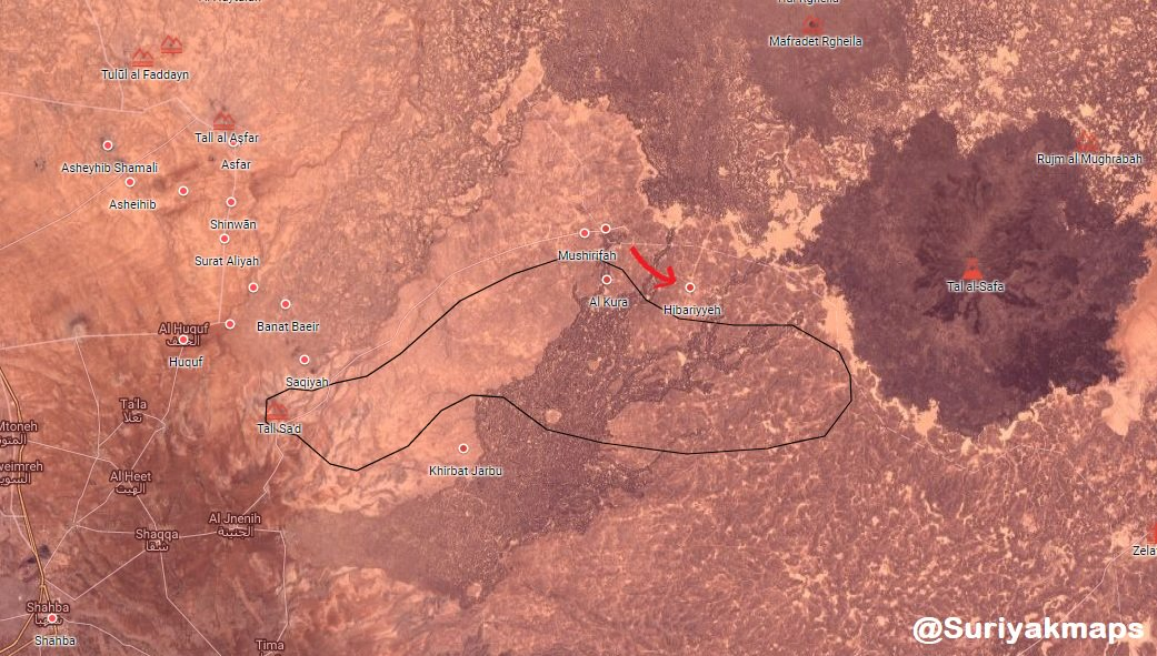 Syrian Military Splits ISIS Pocket In Eastern Al-Suwayda (Map)