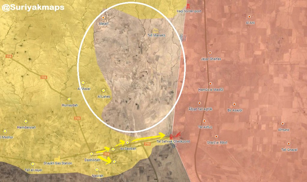 Syrian Democratic Forces Capture Several Villages Near Syrian-Iraqi Border (Map)