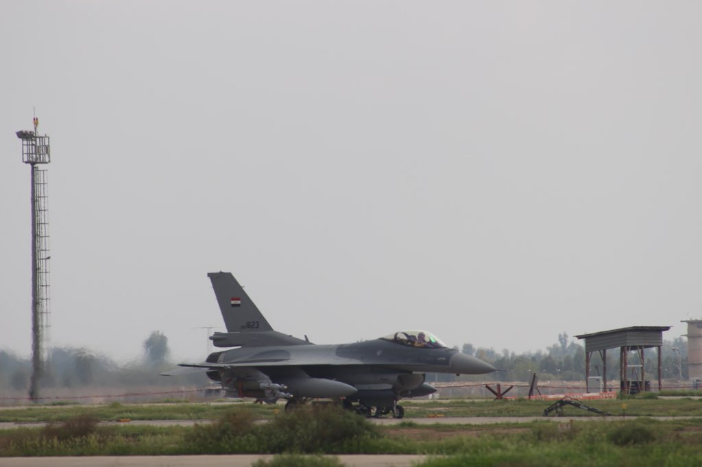 Iraqi Warplanes Kill 45 ISIS Members In New Round Of Strikes In Syria