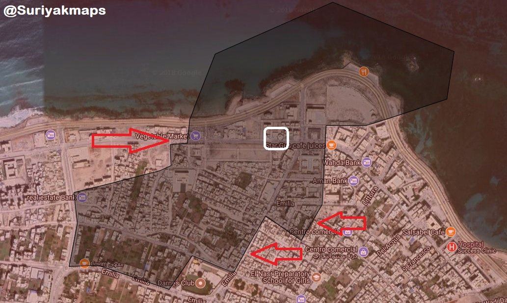 Libyan Nation Army Storms Last District Under Militants' Control In Derna