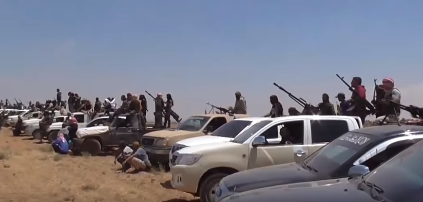 Militants Mobilize Forces To Fight Syrian Army In Southern Syria (Videos)