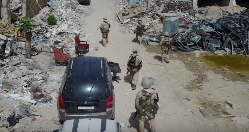 Video: Russian Military Police Forces In Damascus' Eastern Ghouta