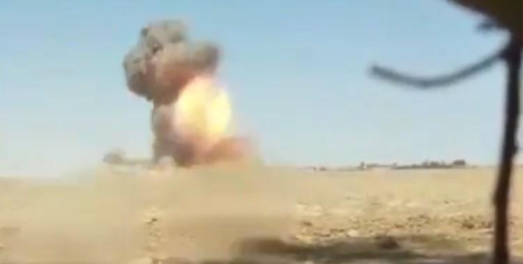 Video: Kurdish Forces Destroy ISIS Car Bomb In Syria's Deir Ezzor Province
