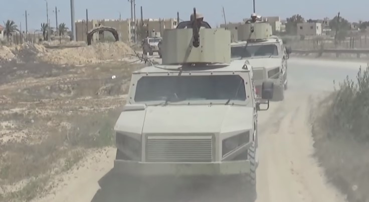 Egyptian Forces Kill 32 Militants In Northern Sinai (Video)