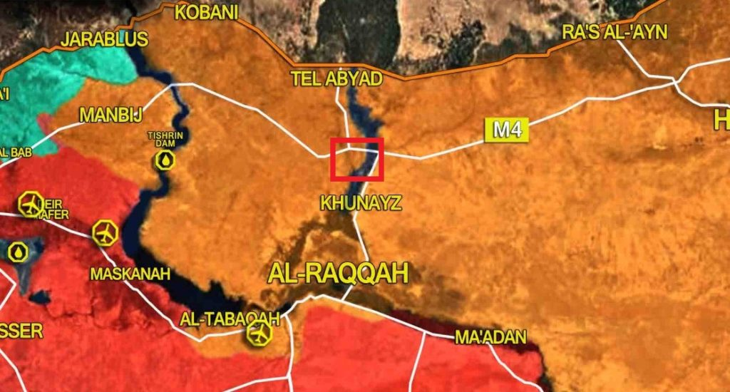 Explosion Reported Near US-French Military Base At Ayn Issa North Of Raqqa