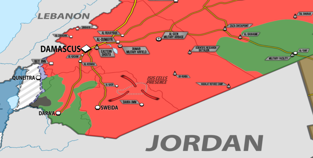 Syrian Forces' Anti-ISIS Operation In Eastern Al-Suwayda Enters Its Fifth Day (Videos, Map)