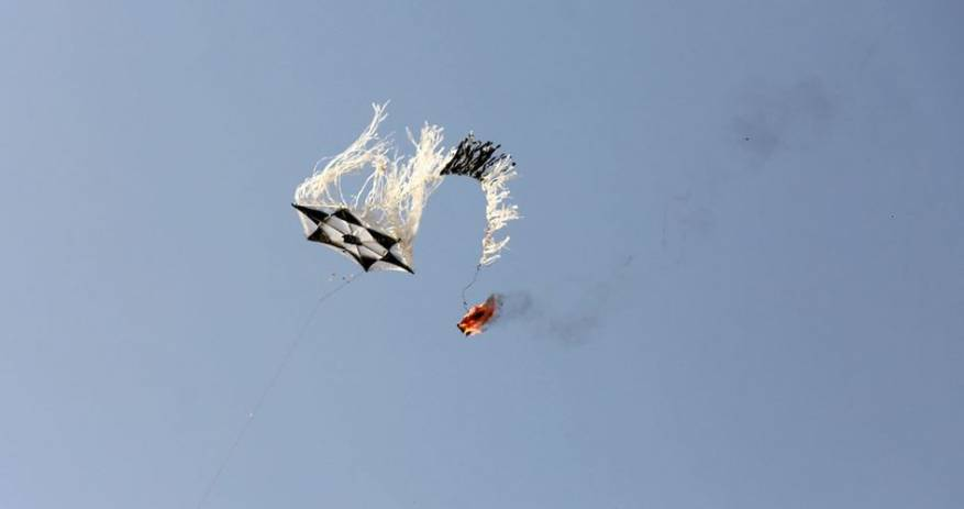 Israeli Military: Palestinians Use Balloons With IEDs To Ignite Fires In Israeli Settlements