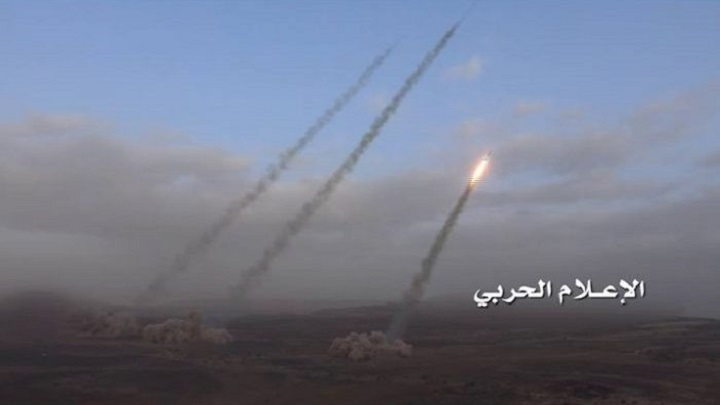 "Houthis Launch ""Ballistic Missiles"" At Several Military Bases In Southern Saudi Arabia"