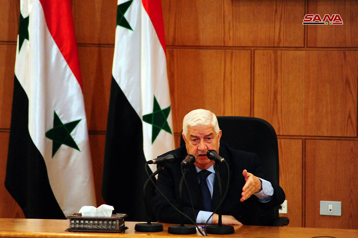 Syrian Foreign Minister: No Agreement On Southern Syria Until US Withdraws From Al-Tanaf