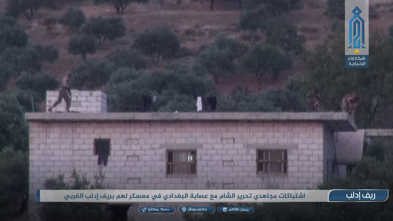 Hay'at Tahrir al-Sham Attacks ISIS Camp In Northwestern Idlib, Kills Dozens Of ISIS Fighters (Photos)