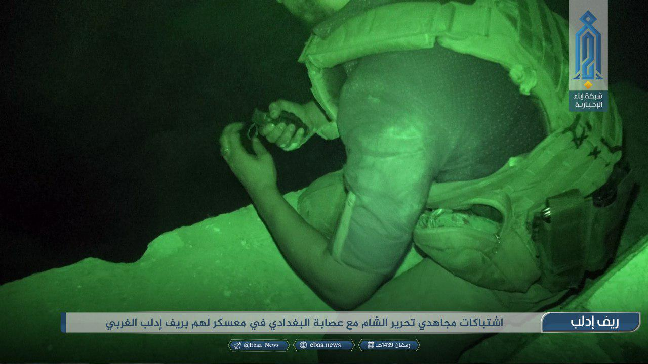 Hay'at Tahrir al-Sham Attacks ISIS Camp In Northwestern Idlib, Kills Dozens Of ISIS Fighters (Photos)