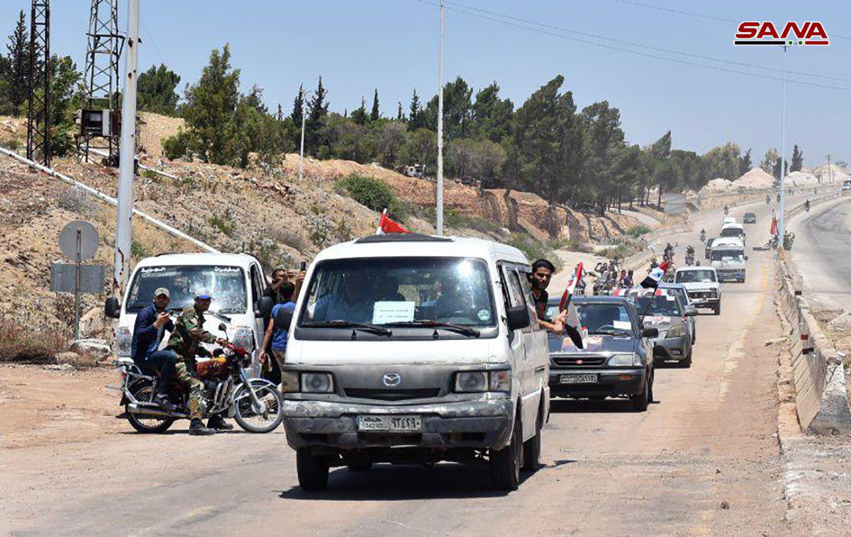 Damascus Government Fully Reopens Hama-Homs Highway For First Time In 7 Years (Photos)
