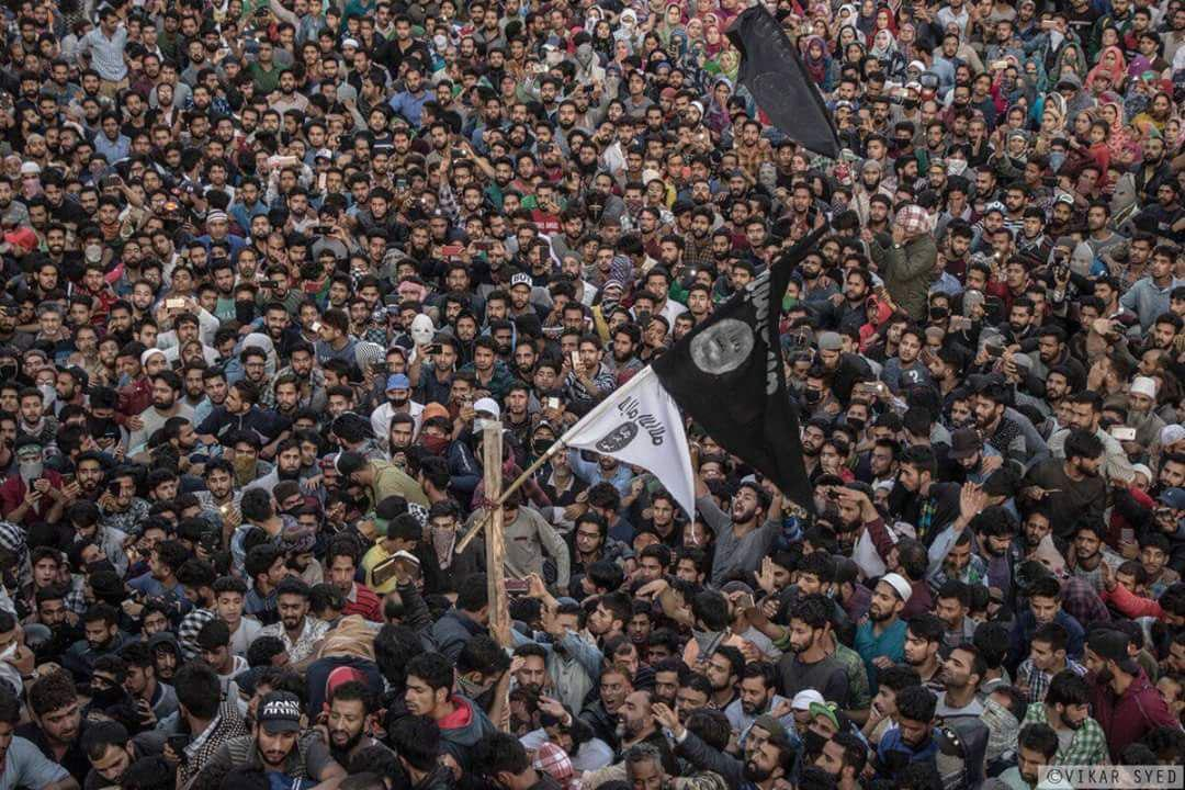 Indian Security Forces Clash With ISIS-Affiliated Group In Kashmir, Protests Erupt (Video)