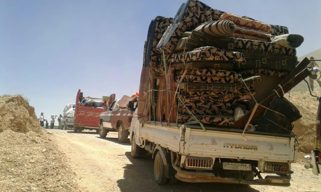 Hundreds Of Syrian Refugees Returned From Lebanon To Western Qalamun (Photos)