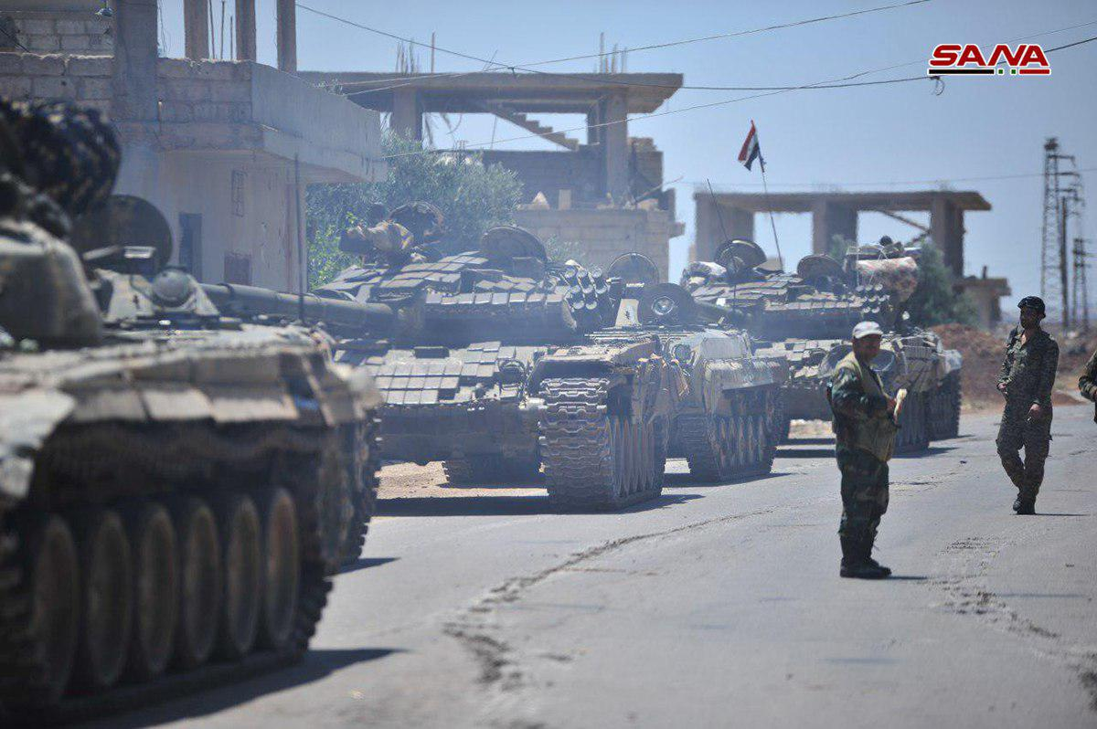 Syrian Military Captures Two New Areas In Western Daraa. More Towns Wants To Reconcile