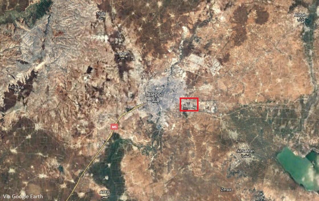 Breaking: Israeli Warplanes Target Iranian Position In Aleppo
