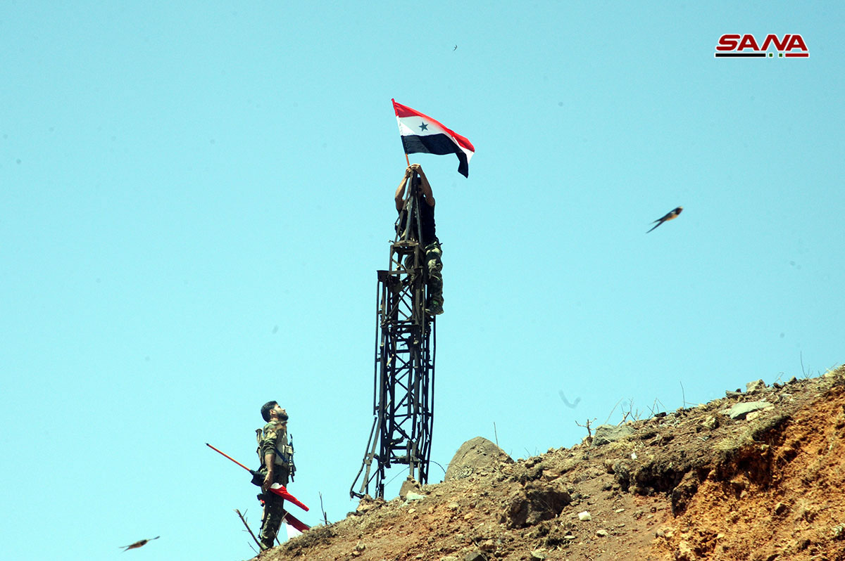 Syrian Millitary Enters Ten Villages In Al-Quneitra As Buses Prepare To Evacuate Local Militants