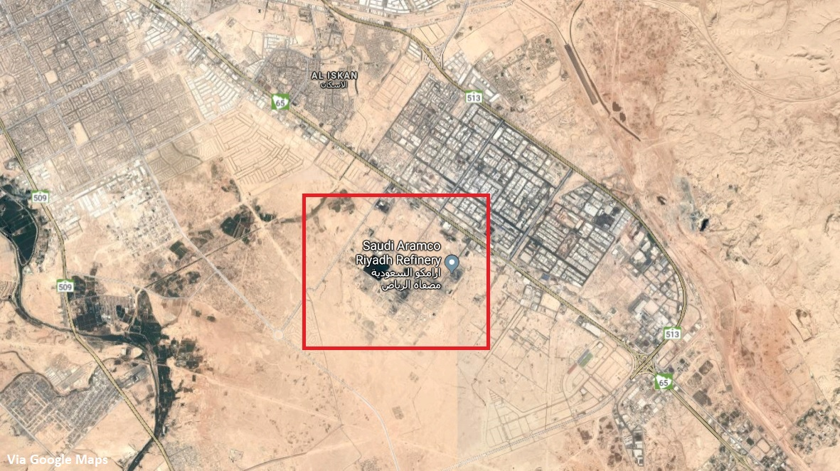 Houthis Use New Armed Drone To Target Riyadh Refinery