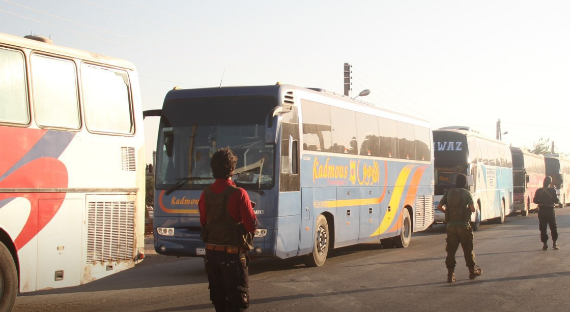 Evacuation Process Began In Al-Fu'ah And Kafriya