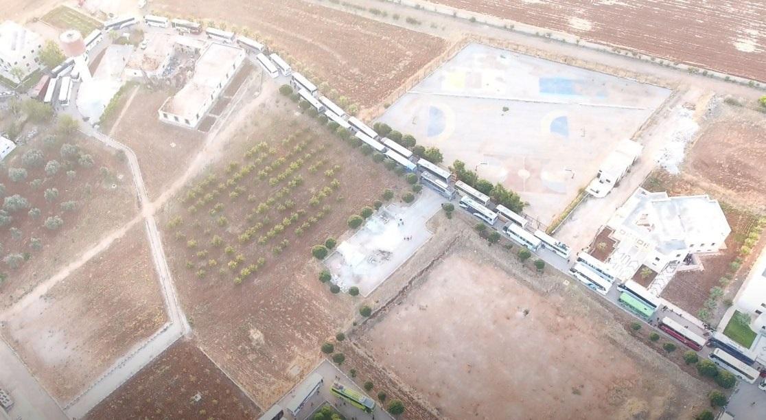 Hayat Tahrir al-Sham Once Again Sabotages Evacuation From Al-Fu'ah And Kafriya