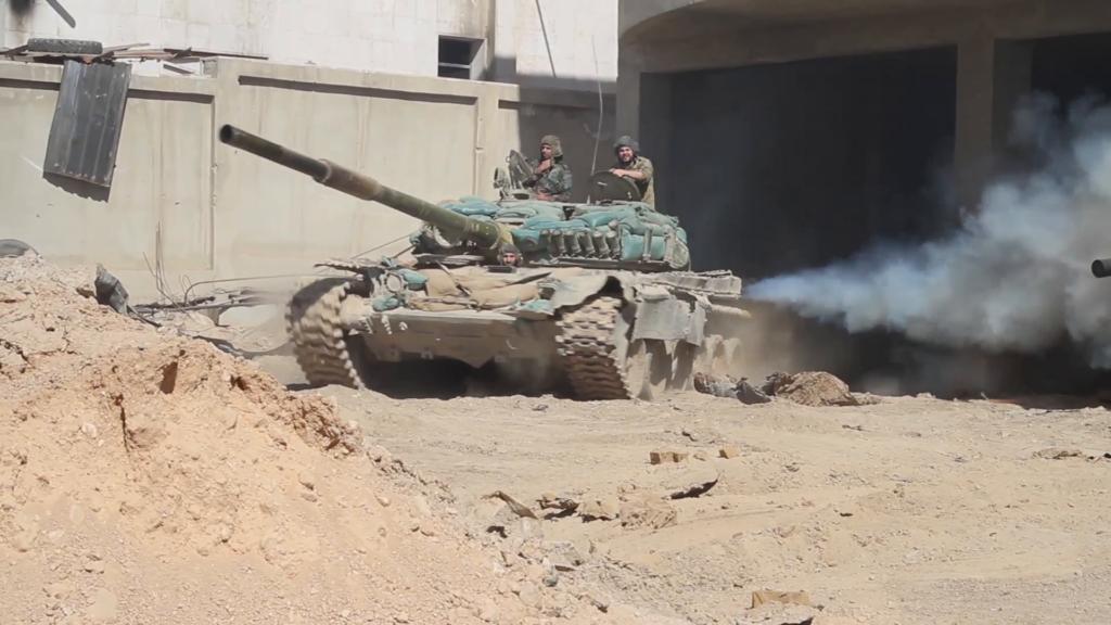 Dans les coulisses: des spécialistes russes fournissent un service de maintenance à l'équipement militaire syrien