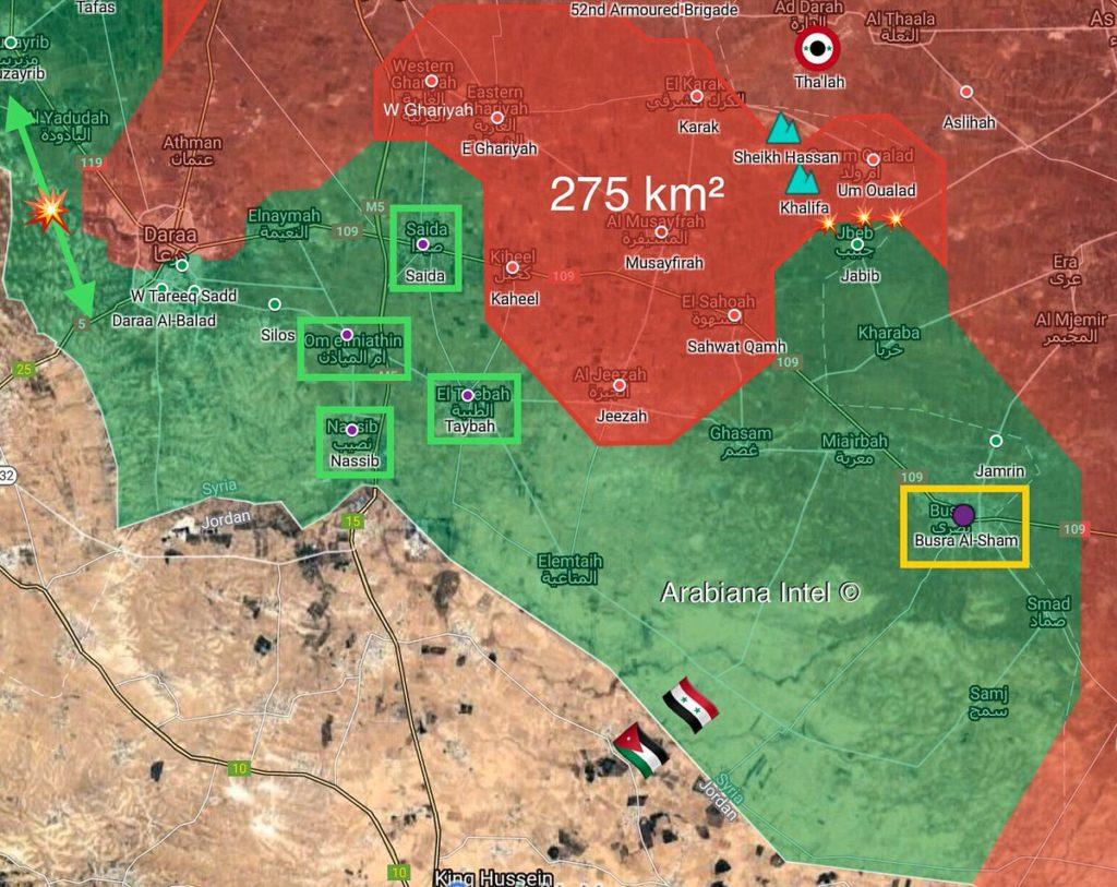 シリア南部の3つの敷地内の武装勢力、軍に降伏:ロシア国防省