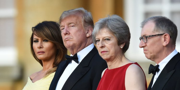 Trump Accused May Of Wrecking Brexit