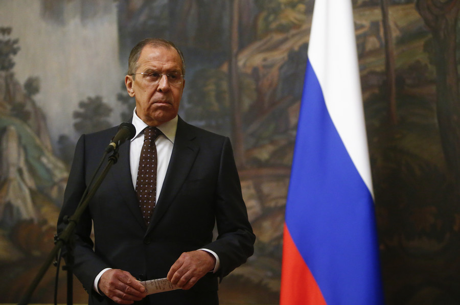 """Foreign Minister Sergey Lavrov's interview with Larry King's """"Politicking"""" show on RT (Full Transcript)"""