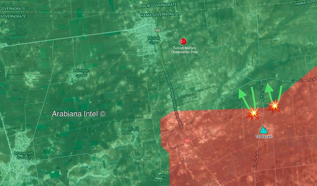 Jaish al-Izza Militants Attack Syrian Army Positions Near Turkish Observation Post In Northern Hama