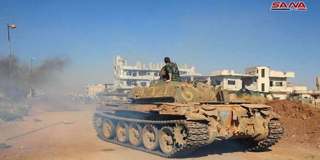 Militants Surrender More Battle Tanks, Armoured Vehicles In Southern Syria Over Past Two Days: Russian Military