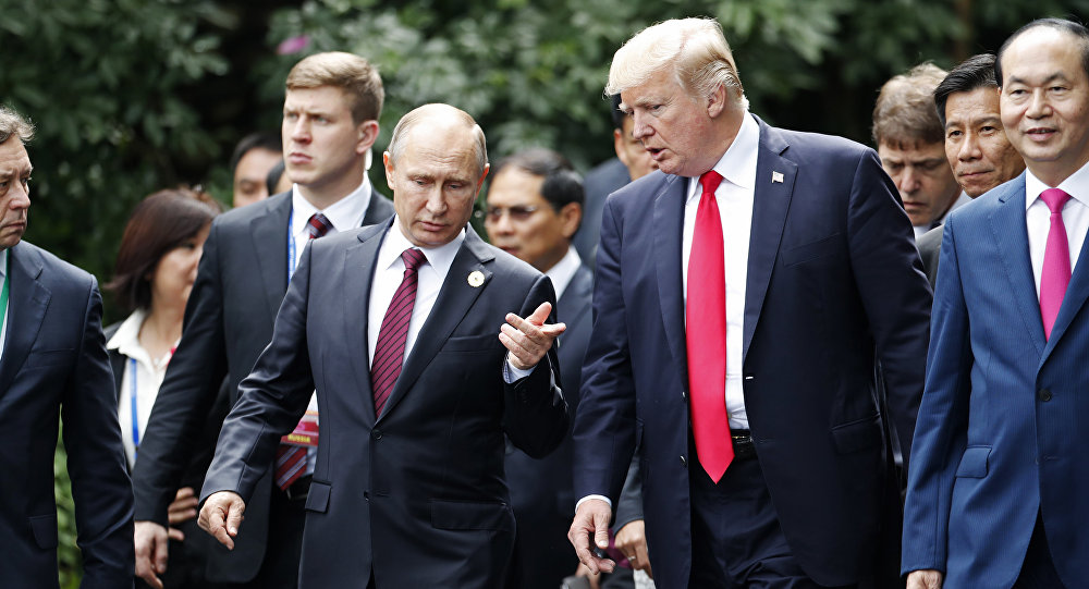 Trump, Putin Are Meeting Face-To-Face In Helsinki Today