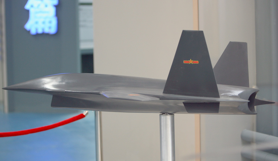 "China's ""Dark Sword"" Unmanned Combat Aerial Vehicle"