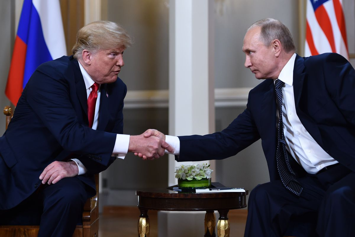 Putin And Trump Agreed In Helsinki That Iran Should Withdraw From Syria: MSM