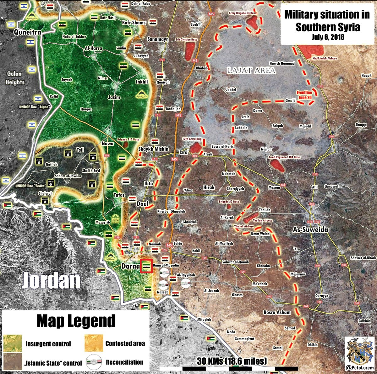 Syrian Military Enters New Town In Eastern Daraa After Expelling Radical Militants From It