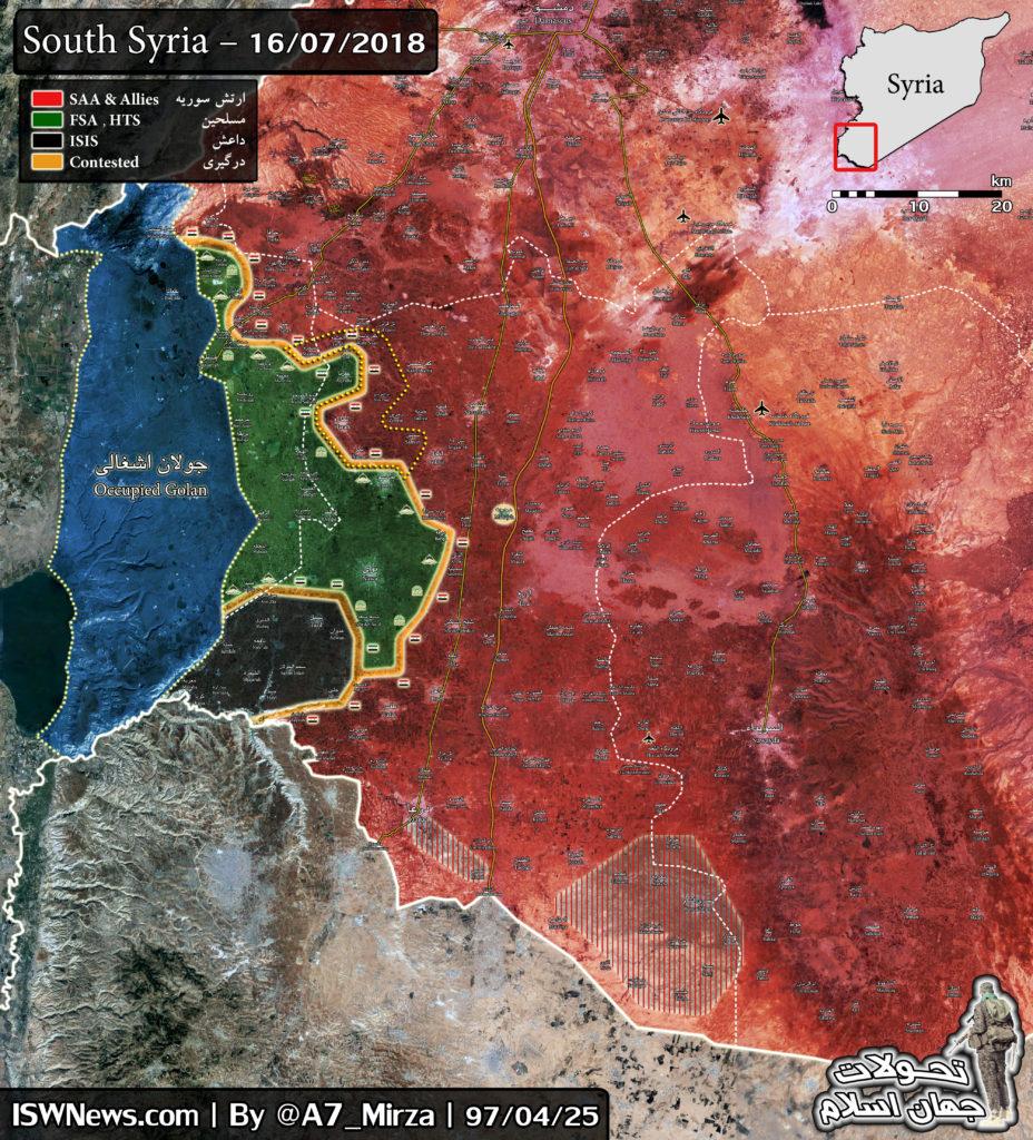 プーチン大統領:南シリアでテロリスト敗北後、ゴラン高原の状況は1974年の合意に基づく合意に達しなければならない