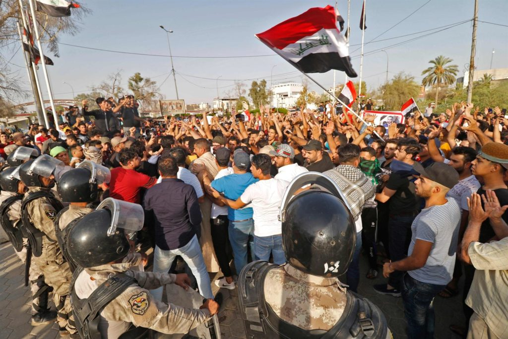 Mass Protests Over Poor Social And Economic Situation Sweep Iraq