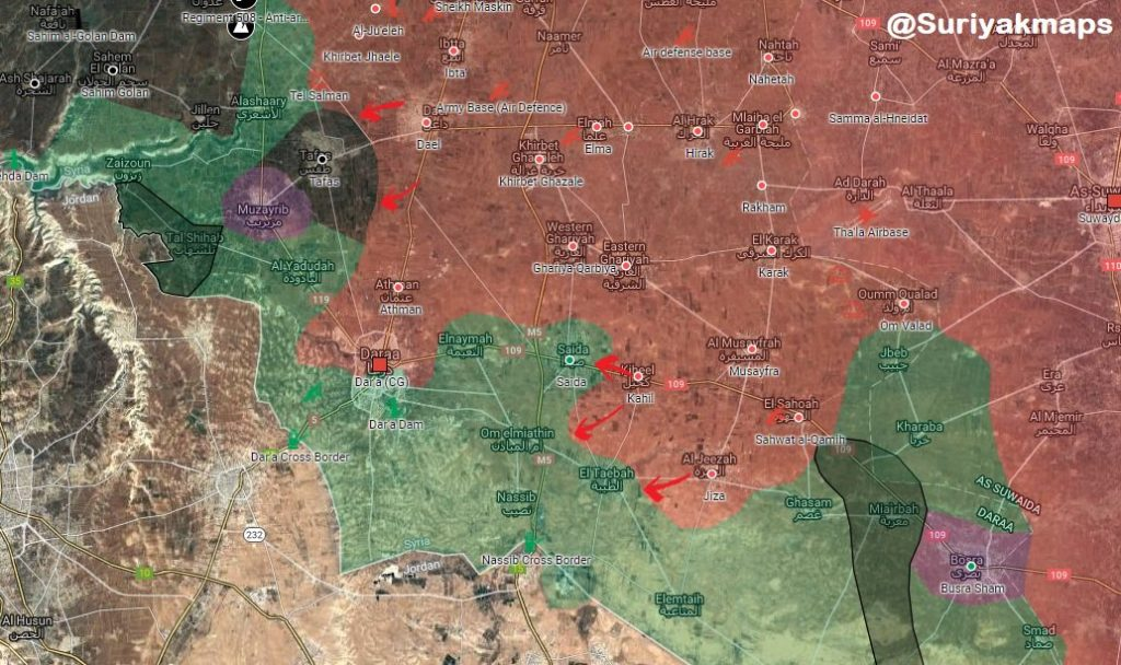 Government Forces Slow Down Their Operation In Southern Syria Amid Reports About Resumed Negotiations