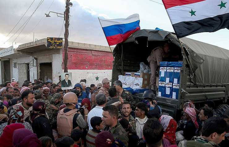 Russia Established Center For Receiving, Relocating, Accommodating Refugees In Syria