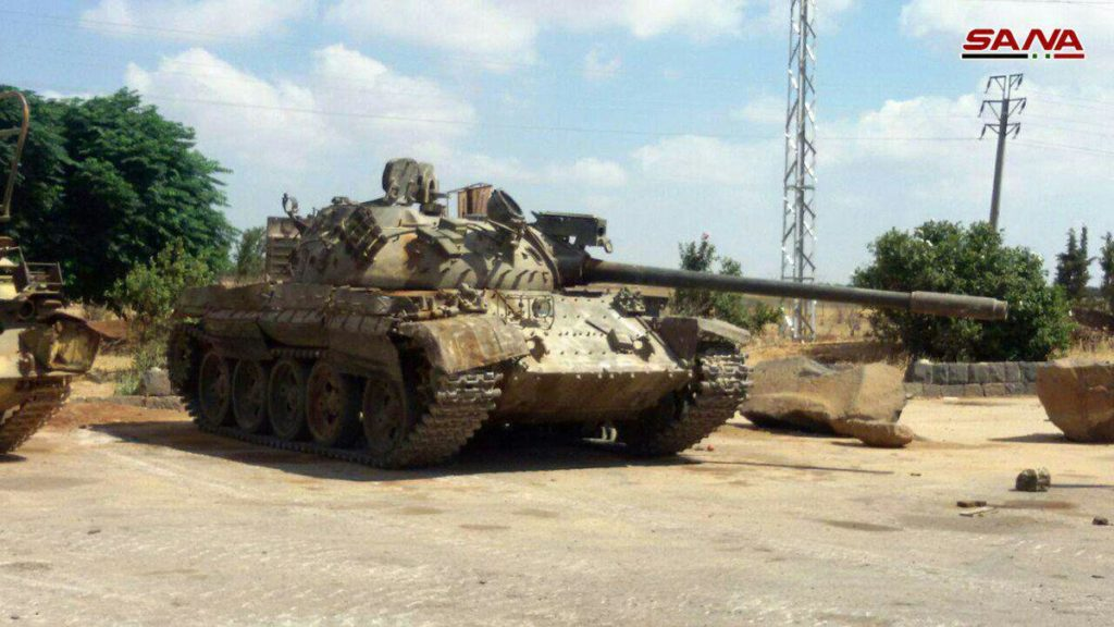 Army Receives 7 Battle Tanks, Other Equipment From Militants In Daraa Province (Photos)