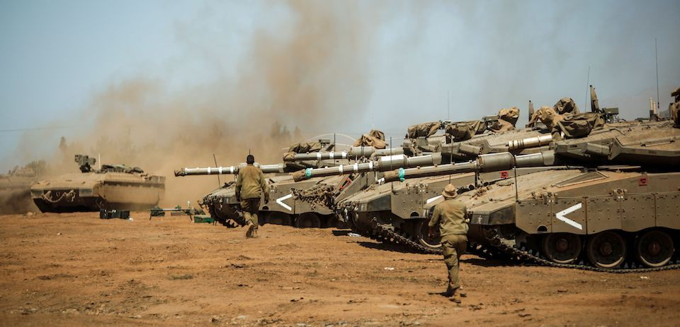 Israeli Forces Deploy Additional Battle Tanks, Artillery Guns On Contact Line With Syria