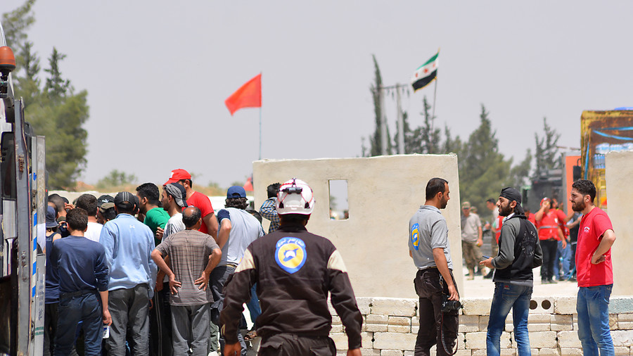 Israel Evacuates 800 Members Of White Helmets And Their Families From Syria To Jordan