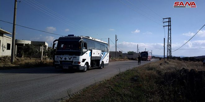 48 Buses With Militants And Their Families Left Syria's Al-Quneitra Province: State Media