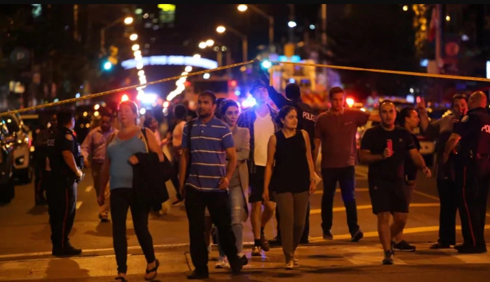Shooting In Canada's Toronto: 13 Injured, Two Dead Including Gunman