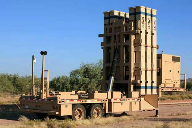 Israel Employs David's Sling Aerial Defense Systems To Intecept Rockets Near Syrian-Israeli Contact Line