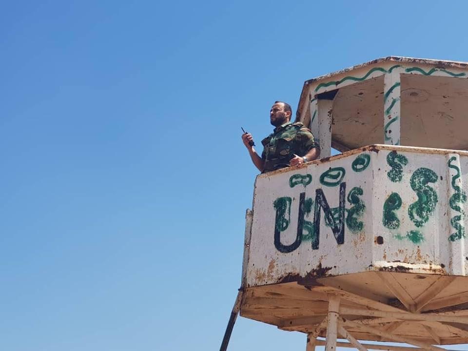 Syrian Army Retakes Golan UN Post From Militants (Map)