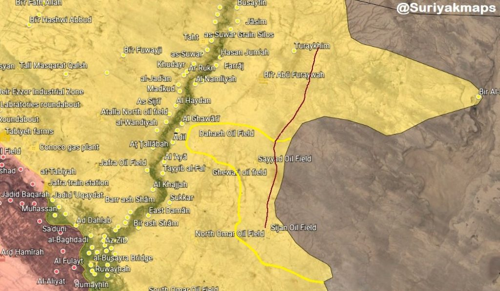 US-backed Forces Capture Sijan Oil Fields, Nearby Points In Northeastern Syria