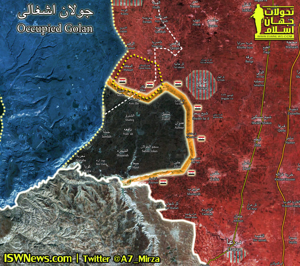 Syrian Forces Liberate Six Settlements From ISIS East Of Golan Heights (Map)