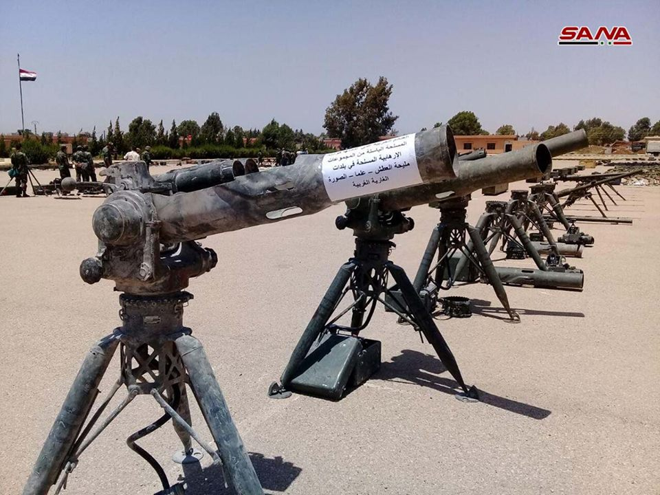 Army Troops Capture Large Amount Of Weapons, Including US-made, During Their Advance In Southern Syria (Videos, Photos)